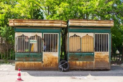 Verkaufsbuden, Prizren, Kosovo