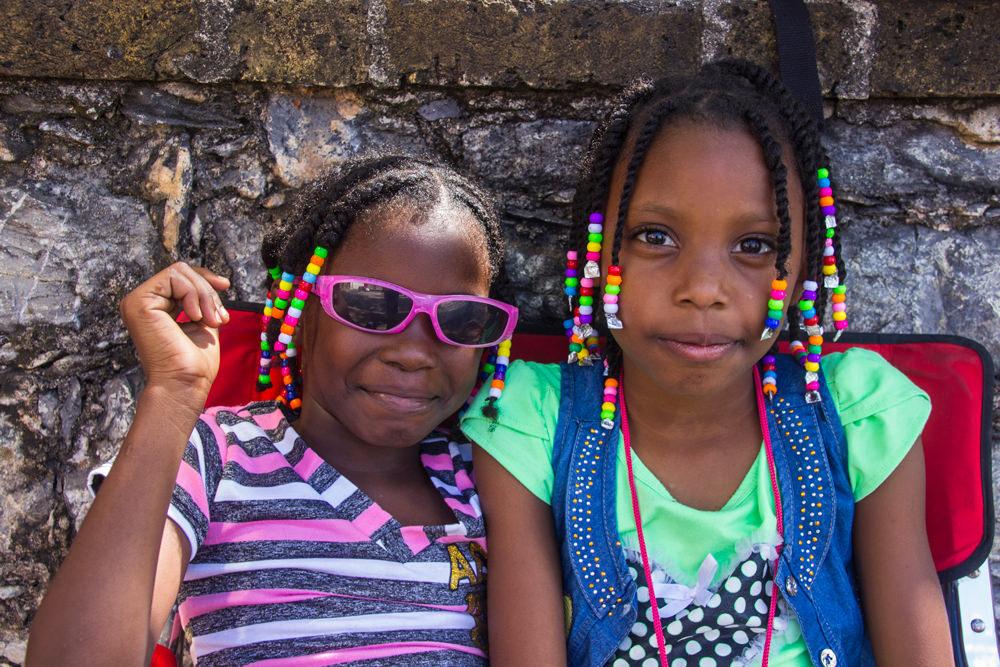 Mädchen, Port of Spain, Trinidad