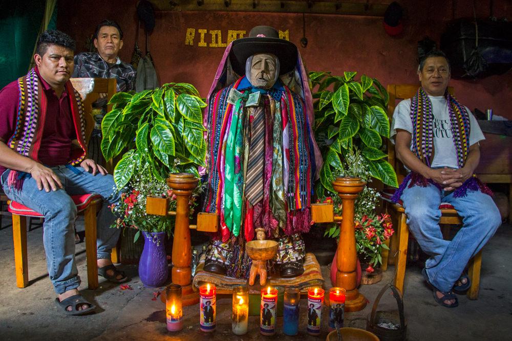 Maximón, Santiago Atitlán, Guatemala