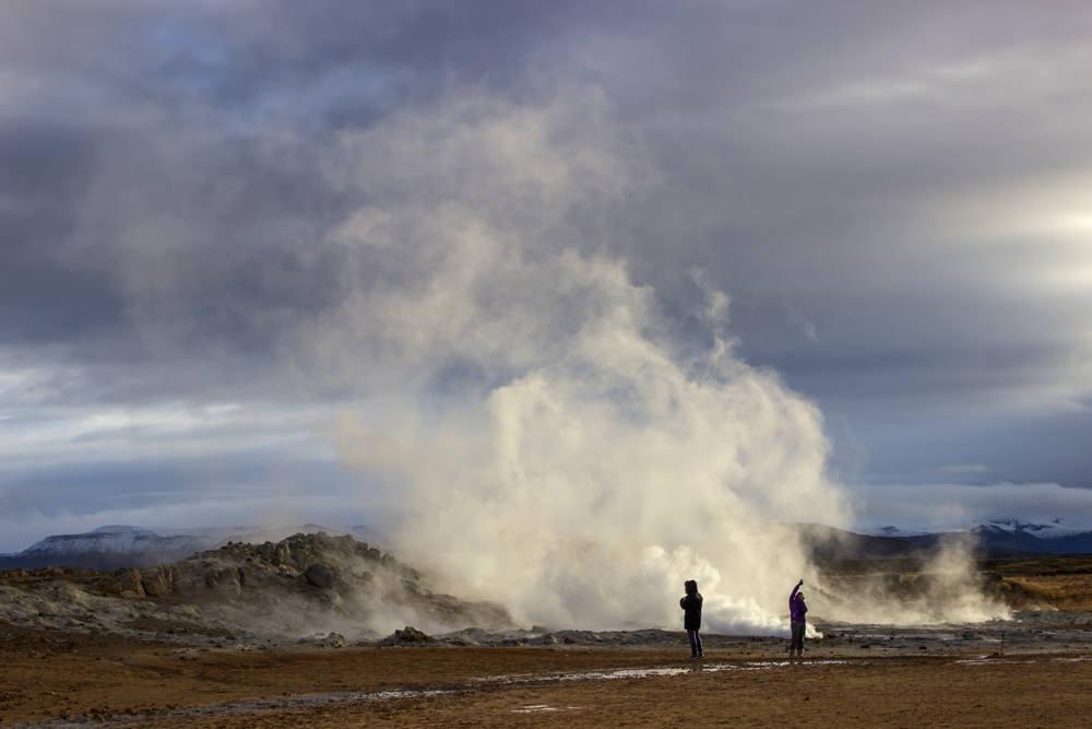 Geothermalfeld, Island